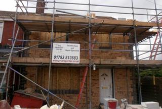 Cornish PRC House repair underway